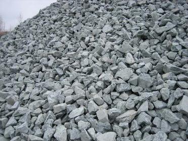 Щебень из плотных горных пород для строительных работ